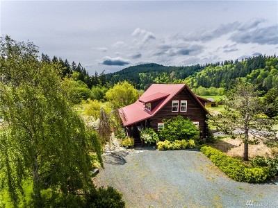 Anacortes Single Family Home For Sale: 5490 Campbell Lake Rd