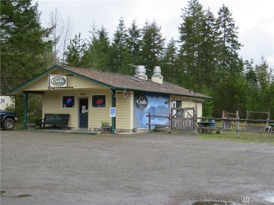 Mason County Business Opportunity For Sale: 2440 N Lake Cushman Rd