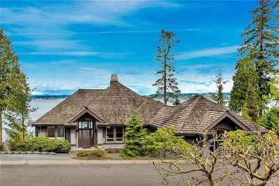 Blaine WA Single Family Home Sold: $1,050,000