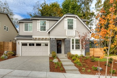Redmond Single Family Home For Sale: 17216 NE 116th Wy #Lot 4