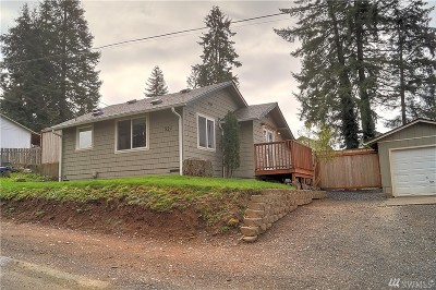 Shelton WA Single Family Home Sold: $139,900