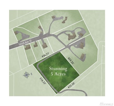 Snohomish WA Residential Lots & Land For Sale: $450,000