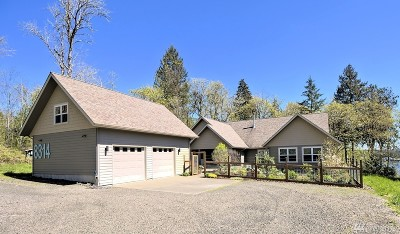 Shelton WA Single Family Home Sold: $615,000