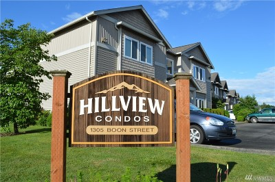 Sumas Condo/Townhouse For Sale: 1305 Boon St #112
