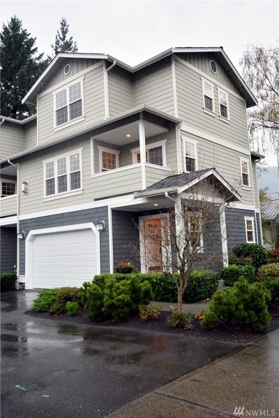 North Bend Condo/Townhouse For Sale: 229 E Park St
