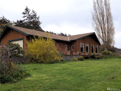 Lummi Island Single Family Home For Sale: 2101 West Shore Dr