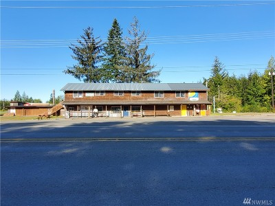 Forks WA Commercial For Sale: $875,000