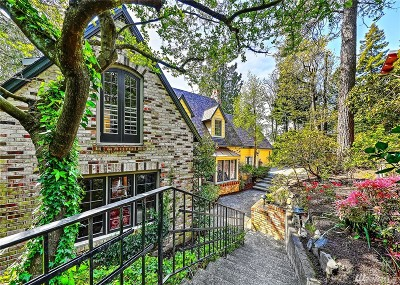 Mercer Island Single Family Home For Sale: 4609 Forest Ave SE