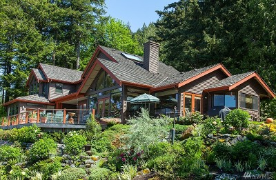 Single Family Home For Sale: 1546 Chuckanut Crest Dr