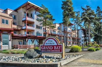 Birch Bay Condo/Townhouse Sold: 7714 Birch Bay Dr #209