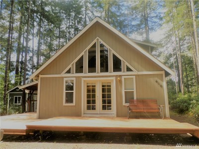 Mason County Single Family Home For Sale: 610 N Fairway Drive W