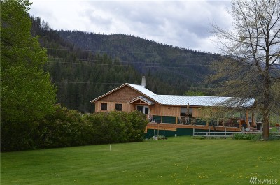 Methow, Carlton Single Family Home For Sale: 240 McFarland Creek Rd