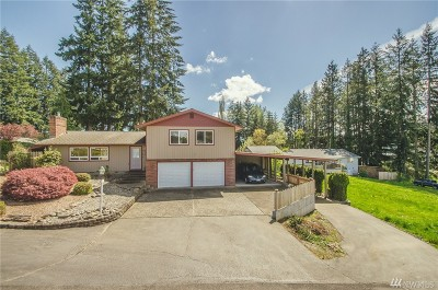 Napavine Single Family Home For Sale: 203 Parkwood Ct.