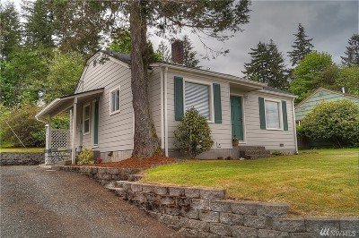 Shelton WA Single Family Home Sold: $162,500
