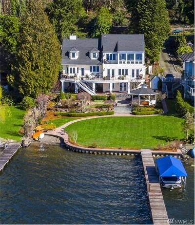 Bellevue Single Family Home For Sale: 4601 Lake Washington Blvd SE