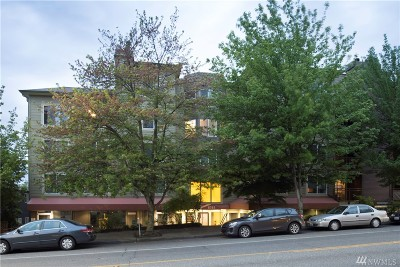 Condo/Townhouse Sold: 8745 Greenwood Ave N #314