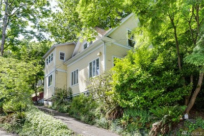 Seattle WA Single Family Home Sold: $620,000