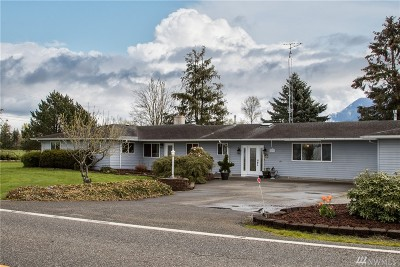 Everson Single Family Home Contingent: 7292 Nooksack Rd