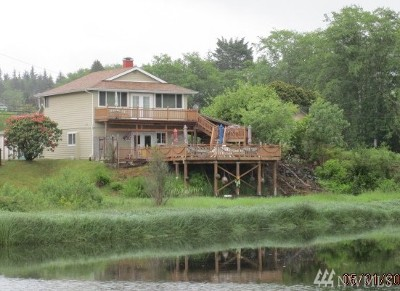 Clallam Bay Single Family Home For Sale: 16651 Hwy 112