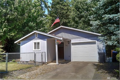 Shelton WA Single Family Home Sold: $159,500