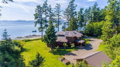 Anacortes Single Family Home Sold: 188 Sinclair Island