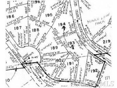 Residential Lots & Land For Sale: 21 Maple Ct