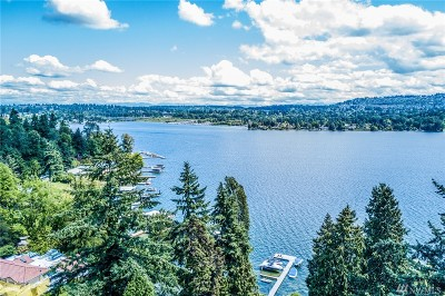 Mercer Island Single Family Home For Sale: 9725 SE 43rd St