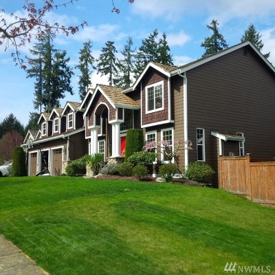 Gig Harbor Single Family Home For Sale: 1823 41st St NW