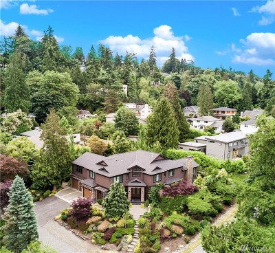 Mercer Island Single Family Home For Sale: 8009 SE 58th St
