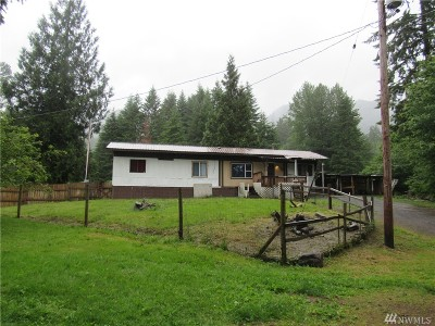 Ashford Single Family Home For Sale: 31009 553rd St Ct E