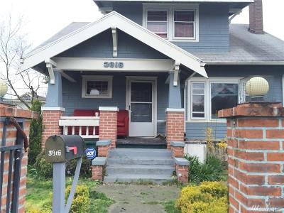 Tacoma WA Single Family Home For Sale: $199,500