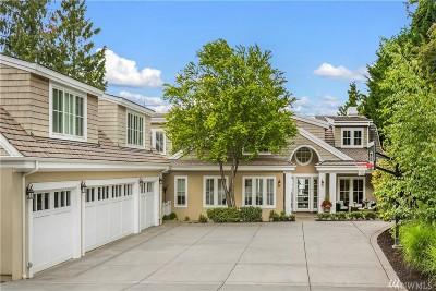 Mercer Island Single Family Home For Sale: 7450 N Mercer Wy