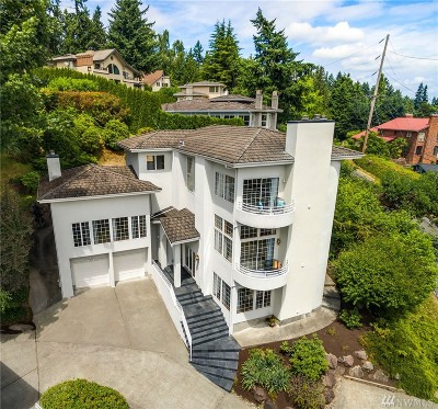 Mercer Island Single Family Home For Sale: 7219 E Mercer Way