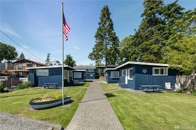 Whatcom County Single Family Home Pending Inspection: 8226 Birch Bay Dr