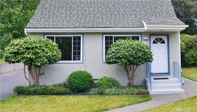 Seattle WA Single Family Home Sold: $565,000