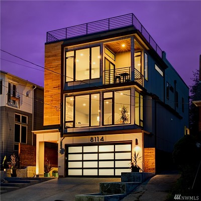 Single Family Home For Sale: 8114 Latona Ave NE