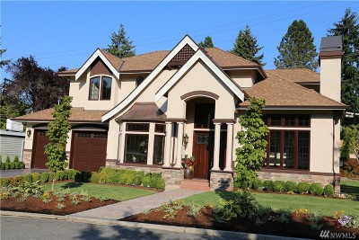 Mercer Island Single Family Home For Sale: 3712 77th Place SE