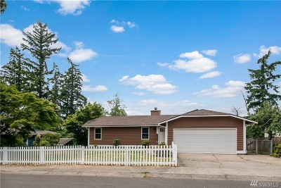 Federal Way Single Family Home For Sale: 33337 41st Ave SW
