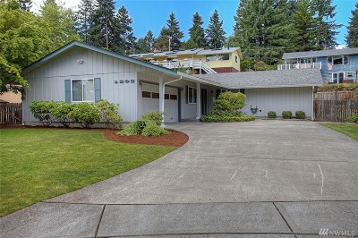 Fircrest Single Family Home For Sale: 1208 Del Monte Ave