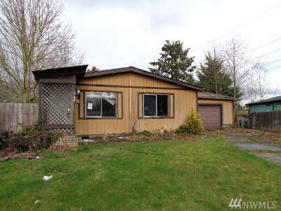 Federal Way Single Family Home For Sale: 1708 SW 349 Place