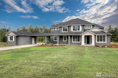 Stanwood Single Family Home For Sale: 16821 63rd (Lot 38) Ave NW
