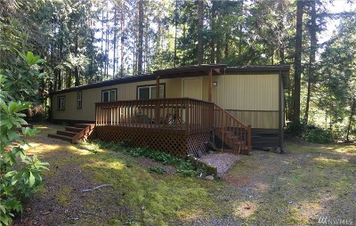 Mason County Single Family Home For Sale: 40 N Kitsap Place