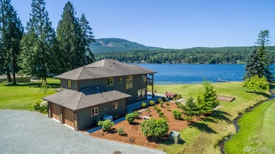 Single Family Home For Sale: 593 E Lake Samish