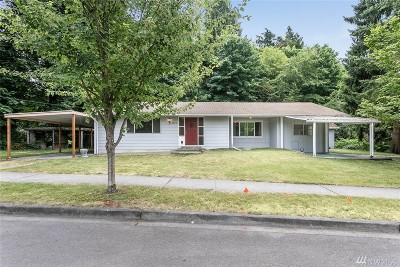 Newcastle Single Family Home For Sale: 8300 136th Ave SE