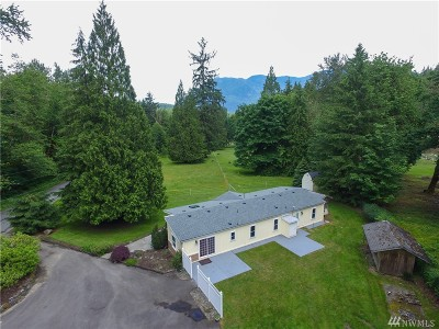 North Bend Single Family Home For Sale: 17228 464th Wy SE