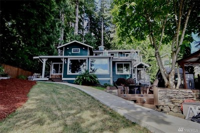 Snohomish Single Family Home For Sale: 2415 SW Lake Roesiger Rd