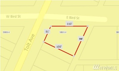 Carnation Residential Lots & Land For Sale: 1 Tolt & E Bird St Ave