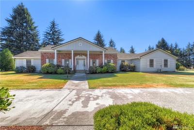 Spanaway Single Family Home For Sale: 2810 263 St Ct E