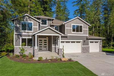 Snohomish Single Family Home For Sale: 20704 (Lot 10) 113th Dr SE