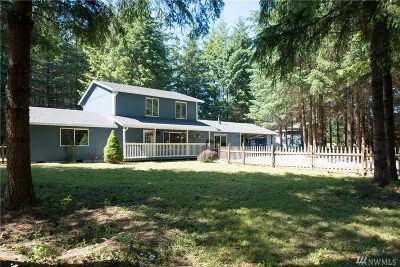 Tenino Single Family Home For Sale: 17625 Mima Acres Drive SE
